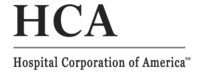 Hospital Corporation of America logo BW